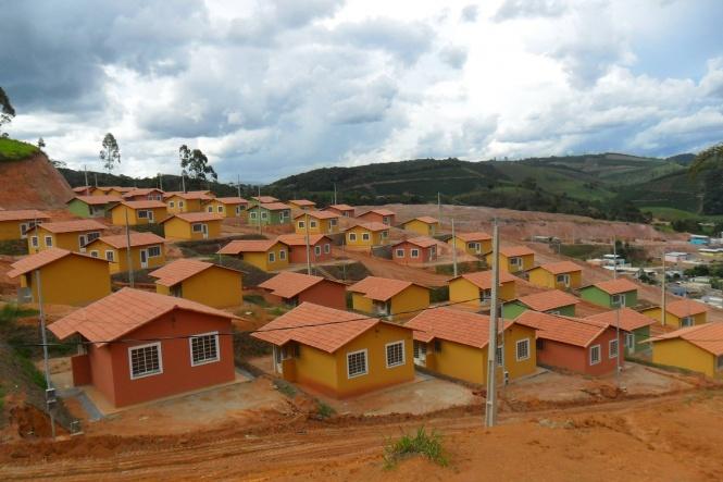 Conjunto Habitacional Santa Inês aguarda a COPASA implantar rede de água.Foto: Sérgio Luís dos Santos