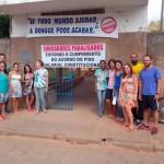 Funcionários da E.E. Altivo Leopoldino de Souza aderiram à paralisação