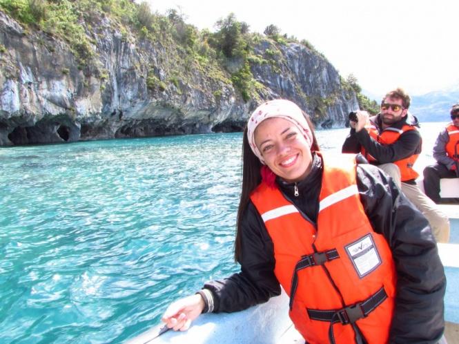 Conhecendo as cavernas de mármore em Puerto Rio Tranquilo - Chile