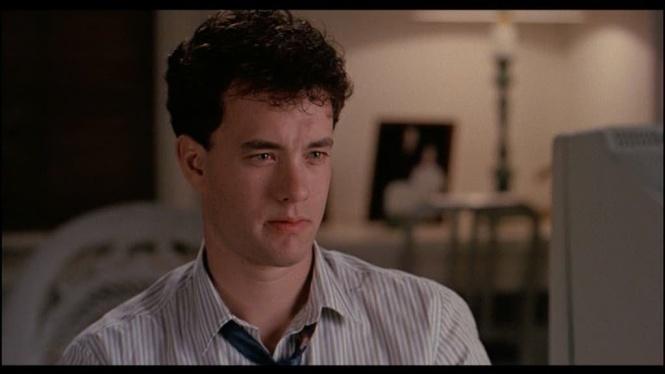 """Tom Hanks, no filme """"Quero ser Grande"""" (Big, 1988)"""