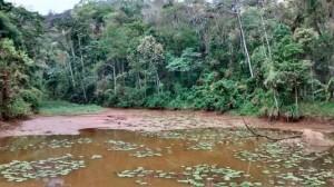 Água da barragem de Espera Feliz.